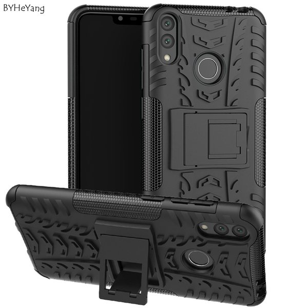 BYHeYang For Huawei Honor 8 Case Anti Slip Matte Soft TPU Hard Hybrid Armor Protective Case For Huawei Honor 8C 8 C