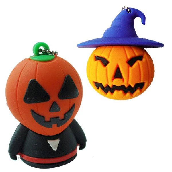 Lower price 100% real capacity Halloween Witch usb flash drive pendrive 128gb 16gb 32gb 64gb external storage micro usb memory stick