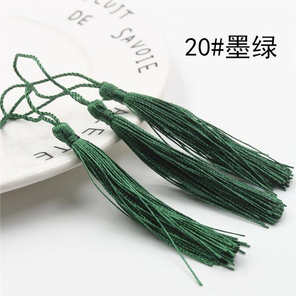 أخضر عميق - 100pcs التي