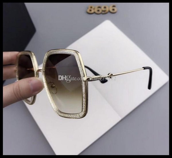 e occhiali da sole poligonali americani commercio estero grande cristallo occhiali uomini e donne generale versione coreana sei occhiali da sole tendenza laterale.