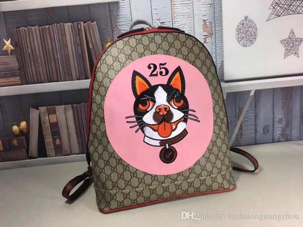 Zaini da uomo Dog designer di lusso in vera pelle pvc Zaini Zaini Style Shoulder Bags da uomo 39 * 33 * 13cm 419584 11