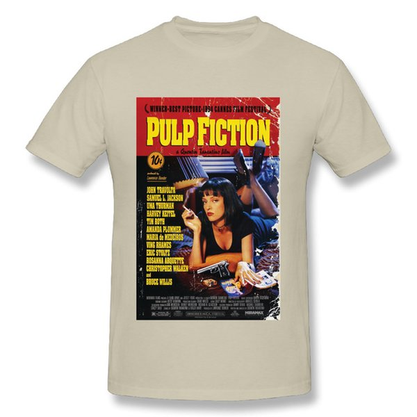 mens designer clothes brand polo New Arrival Man Pulp Fiction T Shirt Classic Movie Fashionable Streetwear T-Shirt for man tee shirt tops 20