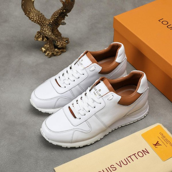 2019l luxury limited edition men's fashion comfortable casual shoes, men's high quality wild trend outdoor sports shoes, size: 38-44