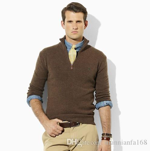 Ralph sweat-shirt pull homme hommes tricot designers sweat à capuche marques Respirant à capuche Homme chaud de la rue pull-over automne hiver polo a2 D55