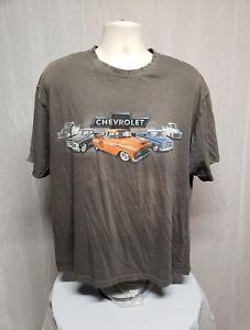 Camiseta Chevrolet Classic Cars Adult XL Gris