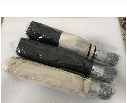 hediye Kutu Ve Çanta Yağmur Şemsiye VIP hediye ile Moda deseni Camellia Çiçek logosu Şemsiye İçin Kadınlar 3 Fold Umbrella Damla nakliye