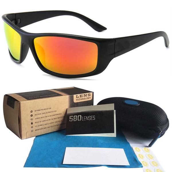 1pcs Hot C0ST marca TR90 Occhiali da sole da uomo nuovo colore degli occhiali da sole di sport di guida in bicicletta Moto Occhiali Full Package