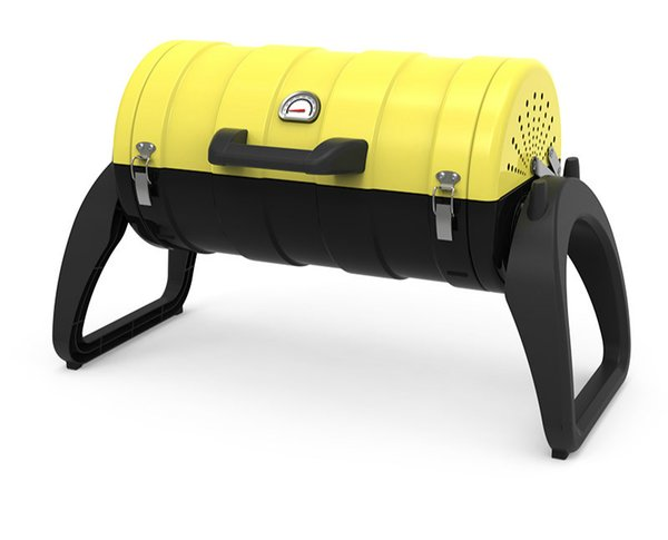 BBQ family oven Dieburg portable outdoor charcoal grill full braised oven charcoal grill outdoor 5-10 people