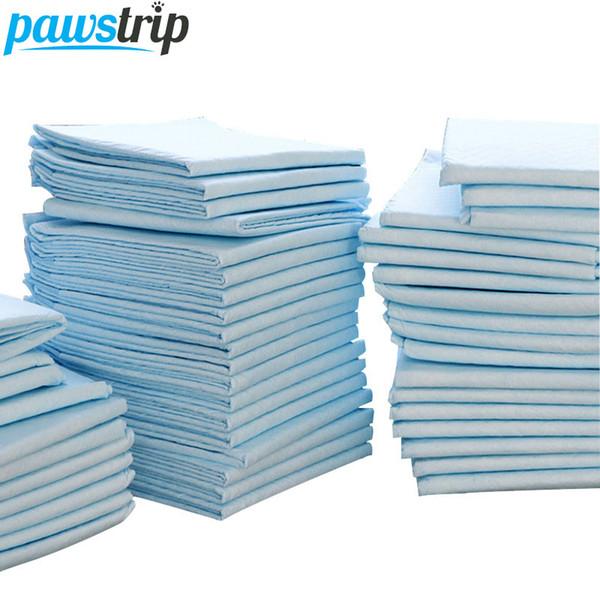 100pcs /lot Super Absorbent Pet Diaper Dog Training Pee Pads Healthy Clean Wet Mat For Dog Cats 33*45cm