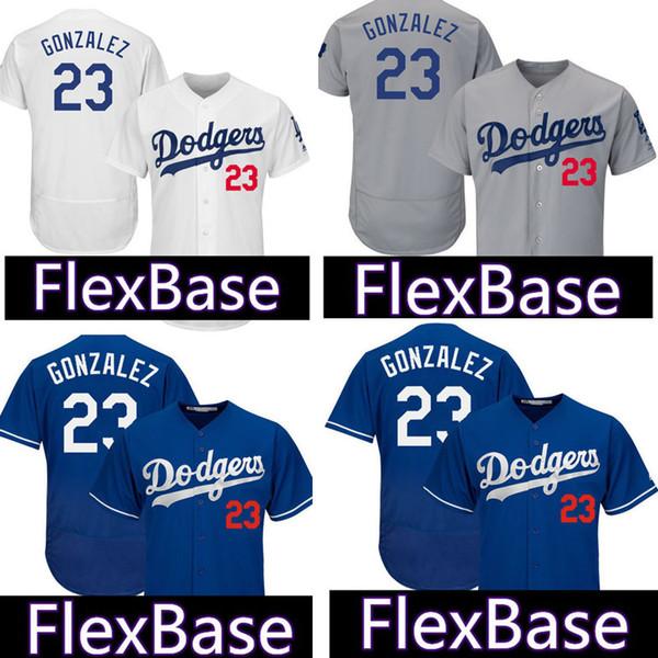 448e32e139e Los Angeles Dodgers 23 Adrian Gonzalez Jersey Cheap wholesale stitched  Baseball Jerseys Free Shipping Blue White