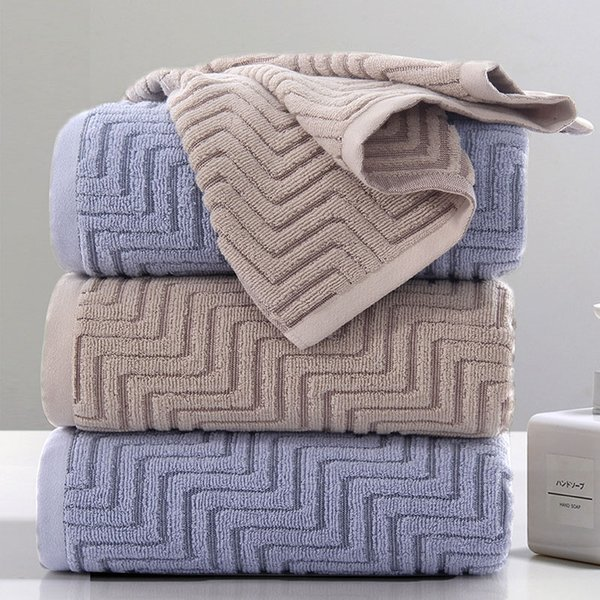 Highly Absorbent Beach Home Textile Face Towel Adults Soft Cotton Bathroom