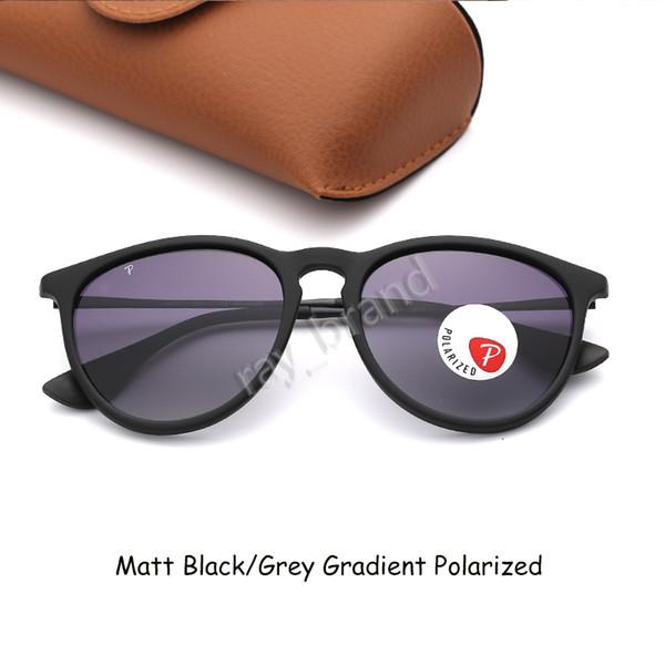 Матовый Черный-серый градиент поляризованный