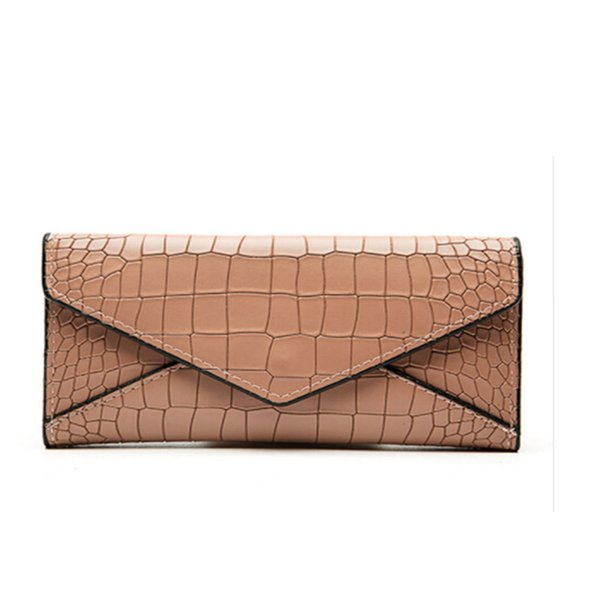 good quality Pu Stone Pattern Women's Wallet Luxury Brand Envelop Long Purse Carteras Lady Fashion Clutch Car Holder