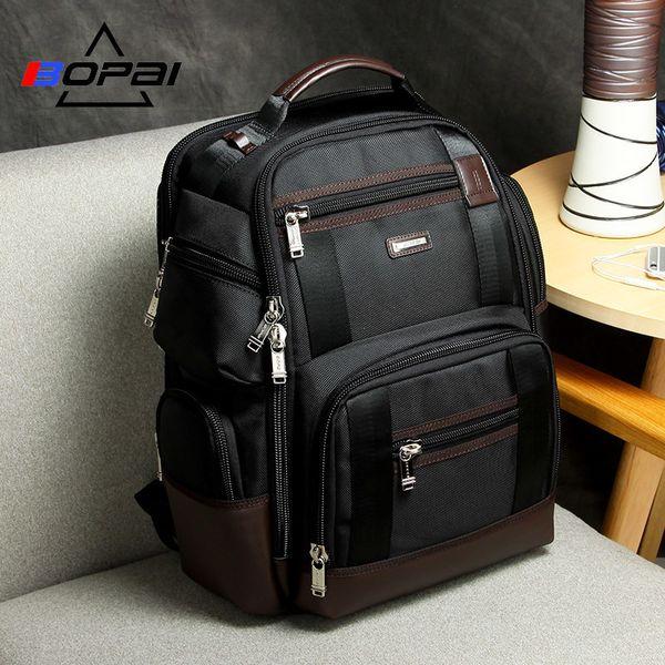 American Famous Brand Multi Pockets Men Backpack Large Capacity Weekend Travel Back Pack Business Men's Super Backpack Male Bag Y19061102