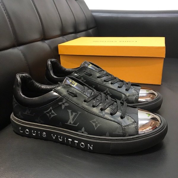 High version New listing personality Mens Wild Casual Shoes, Top quality Print pattern Flat bottom Mens Casual Shoes size 38-44 0024