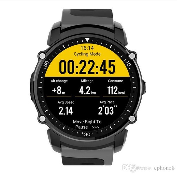 2019 FS08 Bluetooth Smart Watch Waterproof IP68 Swim GPS Sport Fitnes Tracker Stopwatch Heart Rate Monitor Wristwatch for Android