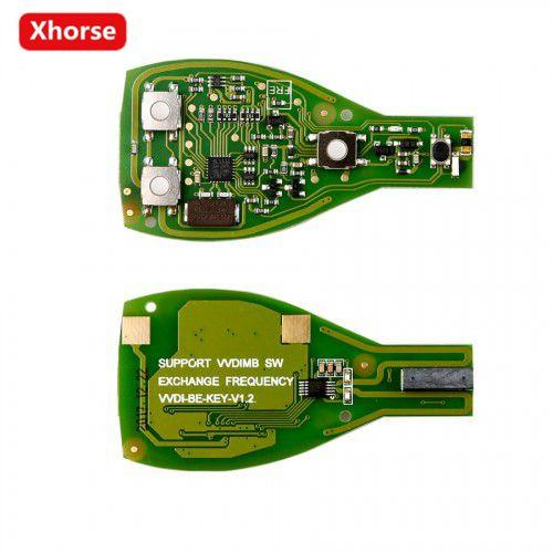 Hot Sale XHORSE VVDI BE Key Pro For Benz Remote Key Chip Improved Version Smart Key Shell 3 Button Can exchange token for MB BGA