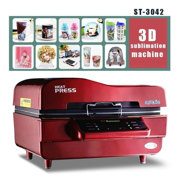 Filme de rótulo de cartão automático multicolor 3d vácuo imprensa calor máquina de sublimação