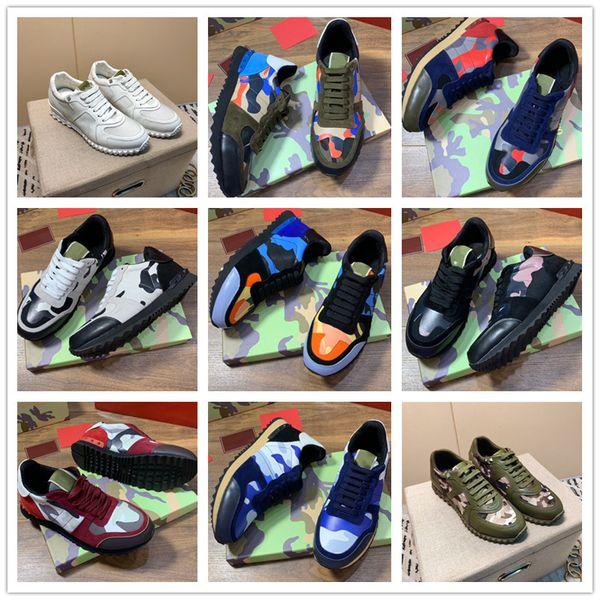 Designer Hommes Chaussures de luxe de haute qualité Chaussures de sport Souliers Plateforme marque de mode Chaussures de sport en plein air Formateurs B102764K