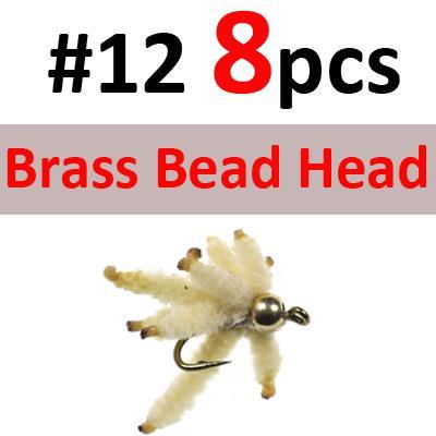 8PCS Brass SIZE 12