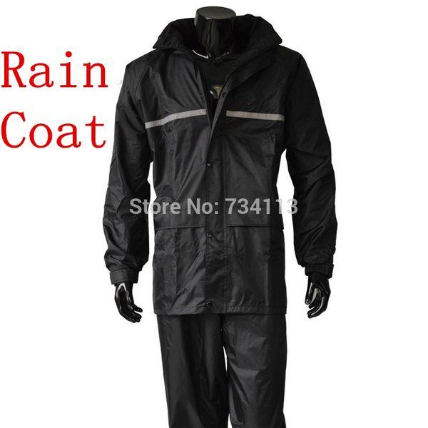 Yağmurluk, yağmur pantolon Ağır yağmur giymek Su Geçirmez motosiklet bisiklet yağmur ceket takım panço büyük Boy balıkçılık Çiftlik açık yağmurluk # 319510