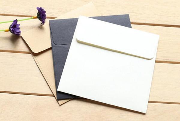 New Office Square Kraft Blank Mini Paper Envelopes Wedding