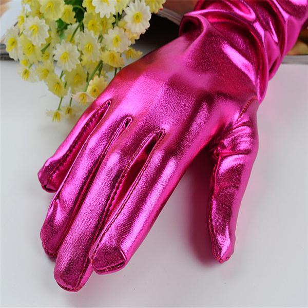 Long Costume Gloves Wedding Dress Bride Gloves Satin Cloth Etiquette Gloves for Women Girls Formal Opera Evening Party 6 Colors Random Mixed