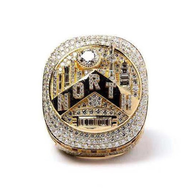 best selling Newest!2019 Authority Raptors Championship Ring Basketball Leonard Lowry Finger Ring 2020 Men Fans Collect Souvenirs MVP wholesale Jewelry