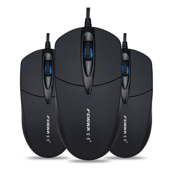 3 Button1200 DPI USB Mouse Com Fio Silencioso Mouses de Jogos Ópticos Mouses Para PC Portátil desktop home / officew / uso da escola A30
