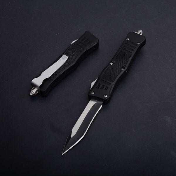 Nueva versión Outdoor Gear 616 Combat Tactical Rescue Cuchillo de doble acción automática de supervivencia que acampa EDC Herramientas navideños regalo cuchillos P728M R
