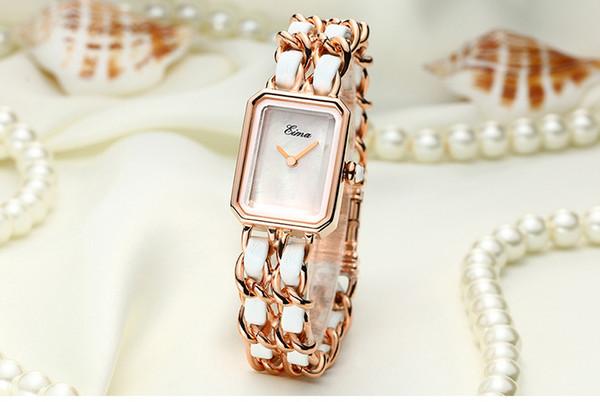 5 rose gold white dial