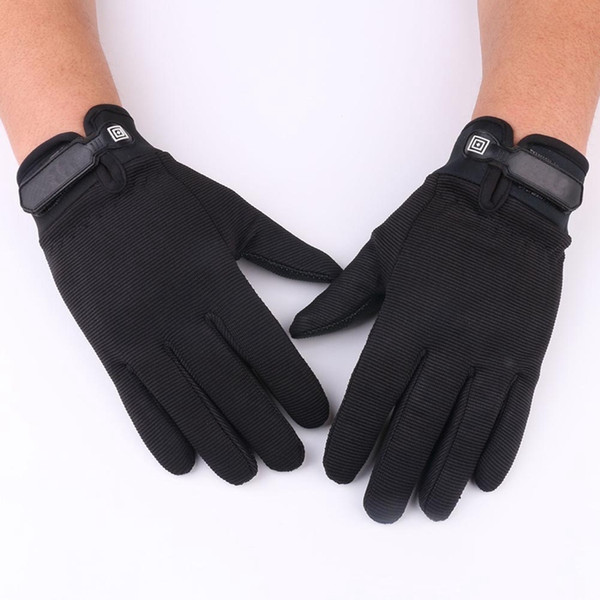 1 Pair cycling Gloves 100% Brand New Comfortable Outdoor Motor Bike Full Finger Gloves For Tactical Airsoft Riding Hunting #335807