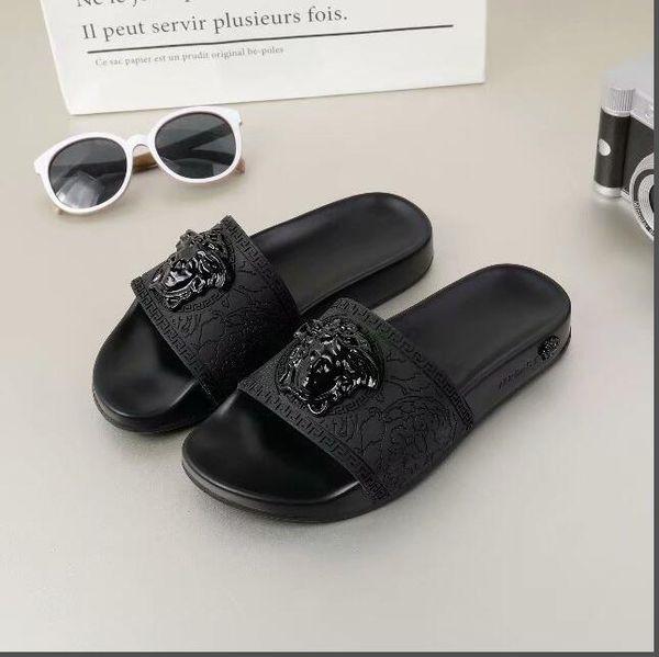 2019 Slippers Sandals Designer Slides Luxury Top Brand Designer Shoes Animal Design Huaraches Flip Flops Loafers For Men and women by shoe06