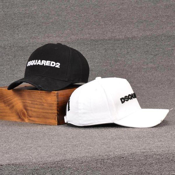 Sıcak Spor Kapaklar Headwears Pamuk Beyzbol Şapkası Mektup Işlemeli Şapka erkek Ve kadın Giyim Avrupa ve Amerika Kap Atletik Açık Accs