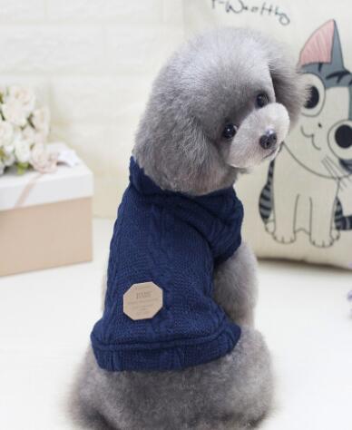 Roupa nova do cão do animal de estimação Roupa inglesa Cão pequeno e de tamanho médio Camisola de duas pernas