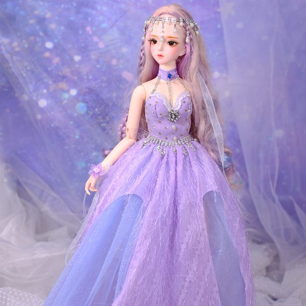 Dream Fairy 1/3 BJD Blyth Doll Joint Body Zi Yu with makeup include outfit shoes hair and Gift box gift toys high quality ICY,SD