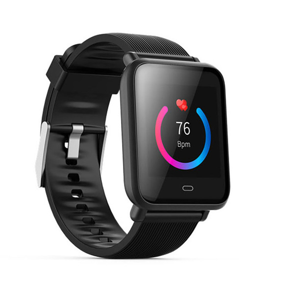 Q9 color screen smart bracelet weather forecast heart rate blood pressure monitoring information synchronous display non-pluggable card