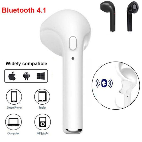 Oreillette sans fil oreillette Bluetooth TWS à oreille unique oreillette Bluetooth 4.1 avec microphone téléphone portable millet Huawei lg