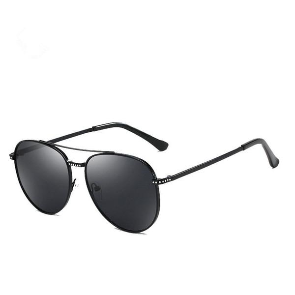 2019 new sunglasses fashion frame ladies metal sunglasses color film reflective sunglasses