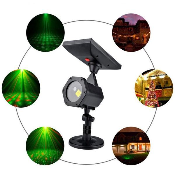 Proiettore laser per esterni Natale Sky Star Stage Spotlight Showers Paesaggio Giardino Prato Luce DJ Disco Lights Decorazioni RG