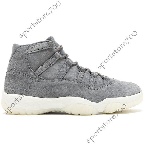 High Grey Suede