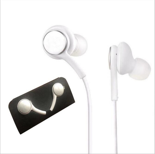 top popular High Quality S10 Earphone Headphones Earbuds For Samsung S10 S10E S10P s9 s8 s7 plus for Jack In Ear wired 3.5mm EO-IG955 100pcs New 2020
