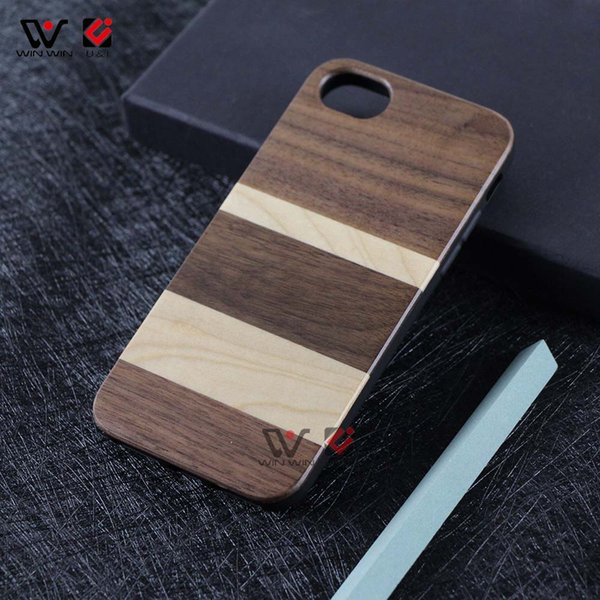 2019 Hot Sale Mobile Phone Accessories Cheap Real Mix Wooden Mobile For iPhone 6 6S Plus 7 8 Plus X XR XS MAX