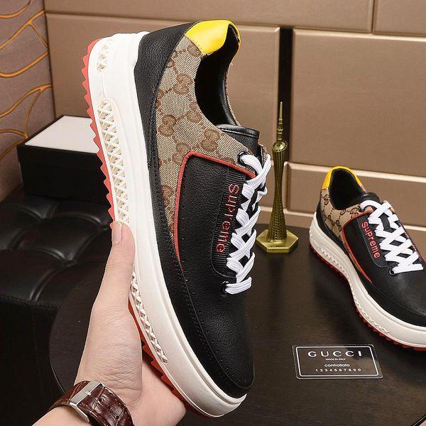 Nouvelle haute qualité top highend mens chaussures de sport respirant tissu mens chaussures de voyage en plein air, chaussures plates de mode avec emballage d'origine qr