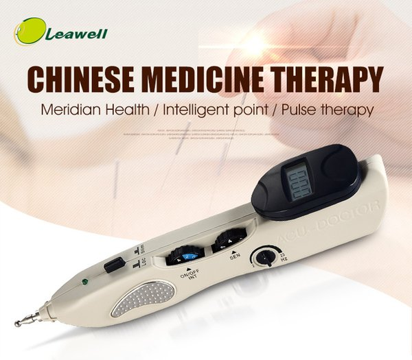 Electric acupuncture point pen automatic meridian acupunture stimulation massage for laser tens acupuncture laser pen electric tens massage
