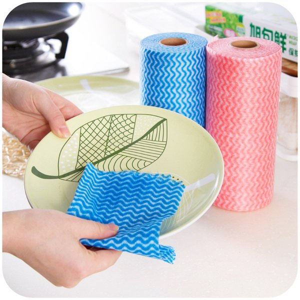 Paño desechable para cocina Paño desechable de múltiples funciones Paño desechable desechable para cocina 25 piezas Paño de limpieza de tela no tejida