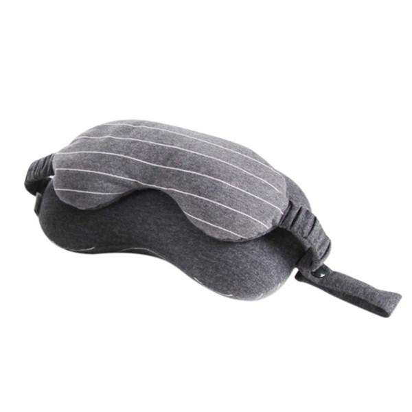 Bolso multifuncional del almacenamiento de la máscara de ojo de la almohada del cuello del viaje de negocios con el portable de la manija
