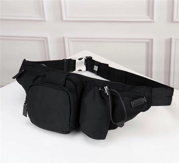 best selling Wholesale new parachute fabric canvas belt bag men and women multifunctional chest pocket fashion large capacity leisure outdoor sports bag