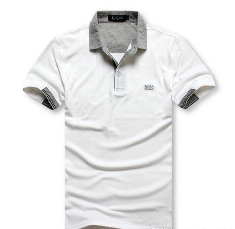 Tee Mens T-Shirt Designer Polo Shirts 2019 New Embroidery Tiger Print Clothing Mens Brand Polo Shirt yyy