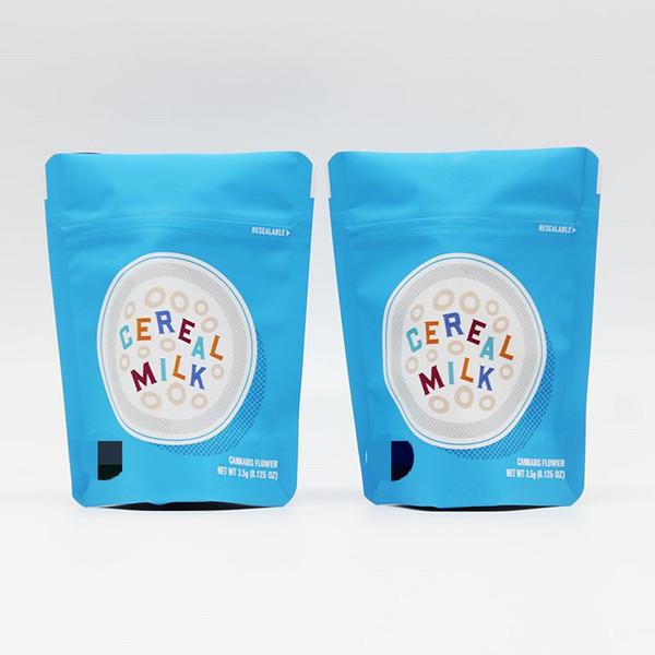 Özel ÇEREZLER SERI SÜT 3.5g Mylar Childproof Çanta Çerezler Çanta Fermuarlı çanta alüminyum folyo ile Bisküvi deodorantı çanta